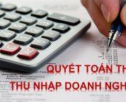 Quyết toán thuế năm đối với thuế thu nhập doanh nghiệp trong CTCP