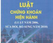 Luật Chứng khoán 2006, sửa đổi, bổ sung năm 2010