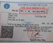 Cách đọc ký tự trên thẻ BHYT để biết mức hưởng khi khám chữa bệnh