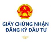 Thủ tục cấp Giấy đăng ký đầu tư trong pháp luật hiện hành