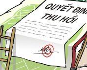 Trường hợp buộc thu hồi giấy chứng nhận đầu tư gián tiếp ra nước ngoài