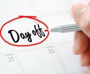 Người lao động được nghỉ những ngày nào trong năm?