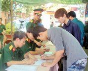 Thủ tục đăng ký nghĩa vụ quân sự khi thay đổi nơi cư trú