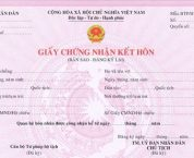 Trình tự, thủ tục đăng ký lại kết hôn theo quy định pháp luật