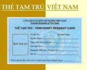 Thủ tục gia hạn tạm trú cho người nước ngoài đang tạm trú ở Việt Nam