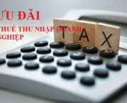 Ưu đãi thuế thu nhập doanh nghiệp đối với doanh nghiệp công nghệ cao